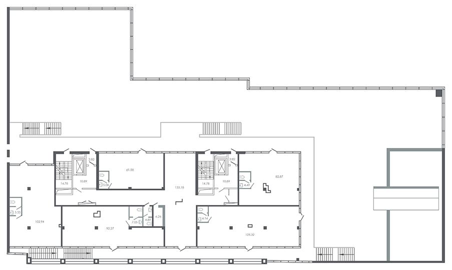 план этажа №2