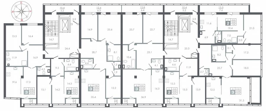 план этажа №5